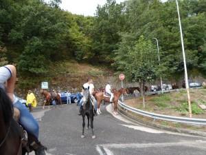 Il pellegrinaggio a cavallo