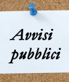 AVVISI PUBB